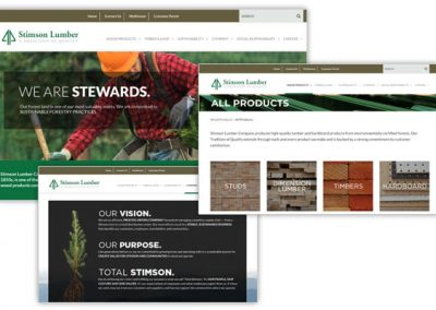 STIMSON LUMBER: Wood Products