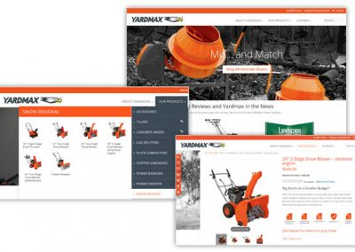 YARDMAX: Outdoor Power Equipment